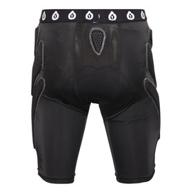 SixSixOne Exo II Short with Pad black